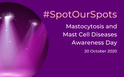 #SpotOurSpots for Mastocytosis and MCAS is lighting up Australia